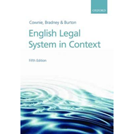 English Legal System in Context (BOK)