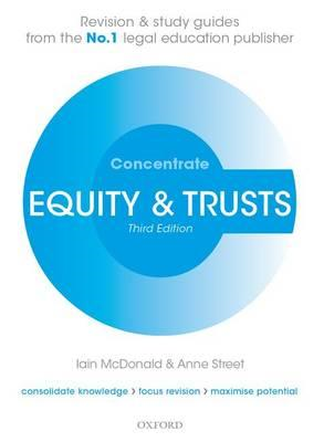 Equity & Trusts Concentrate: Law Revision and Study Guide (BOK)