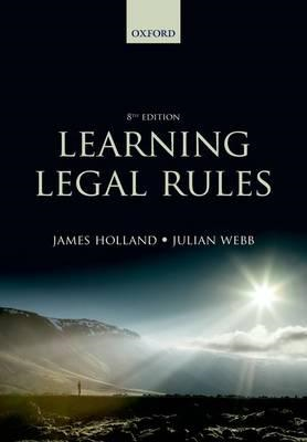 Learning Legal Rules (BOK)