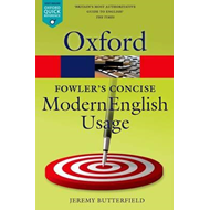 Fowler's Concise Dictionary of Modern English Usage (BOK)