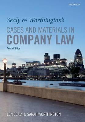 Sealy & Worthington's Cases and Materials in Company Law (BOK)