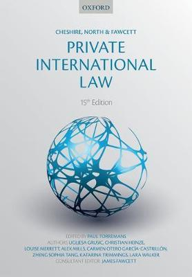 Cheshire, North & Fawcett: Private International Law (BOK)
