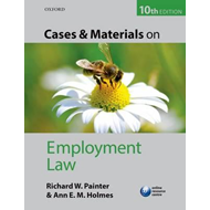 Cases and Materials on Employment Law (BOK)