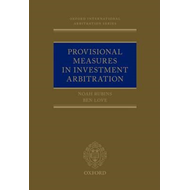 Provisional Measures in Investment Arbitration (BOK)