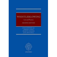 Whistleblowing: Law and Practice (BOK)