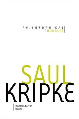 Philosophical Troubles (BOK)
