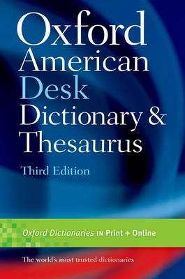 Oxford American Desk Dictionary & Thesaurus (BOK)