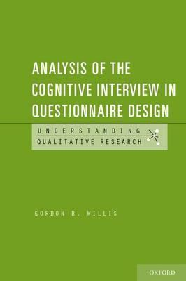 Analysis of the Cognitive Interview in Questionnaire Design (BOK)
