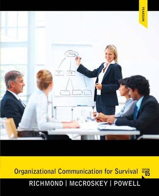 Organizational Communication for Survival (BOK)