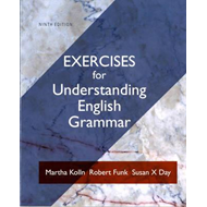 Exercise Book for Understanding English Grammar (BOK)