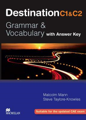 Destination C1 and C2 - Grammer and Vocabulary with Answer K (BOK)