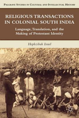 Religious Transactions in Colonial South India (BOK)