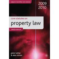 Core Statutes on Property Law (BOK)