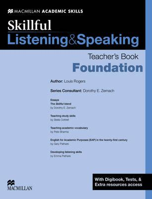 Skillful Listening and Speaking Teacher's Book + Digibook + Audio CD Foundation Level (BOK)
