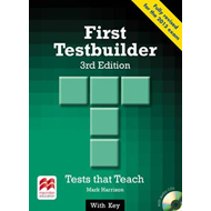 First Testbuilder Student's Book with Key Pack (BOK)