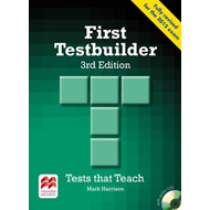 First Testbuilder 3rd edition Student's Book without key Pac (BOK)