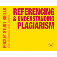 Referencing and Understanding Plagiarism (BOK)