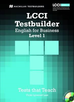 LCCI English for Business Testbuilder 1 (BOK)