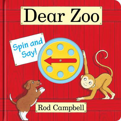 Dear Zoo Spin and Say (BOK)
