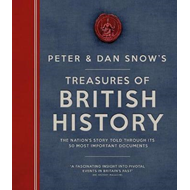 Produktbilde for Treasures of British History - The Nation's Story Told Through Its 50 Most Important Documents (BOK)