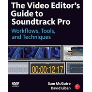 Produktbilde for Video Editor's Guide to Soundtrack Pro (BOK)