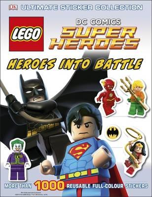 LEGO DC Super Heroes Heroes Into Battle Ultimate Sticker Col (BOK)