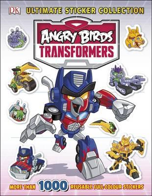 Angry Birds Transformers Ultimate Sticker Collection (BOK)