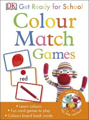 Get Ready for School Colour Match Games (BOK)