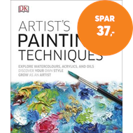 Produktbilde for Artist's Painting Techniques - Explore Watercolours, Acrylics, and Oils (BOK)