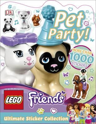 LEGO Friends Pet Party! Ultimate Sticker Collection (BOK)