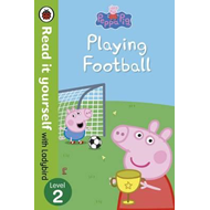 Peppa Pig: Playing Football - Read It Yourself with Ladybird (BOK)