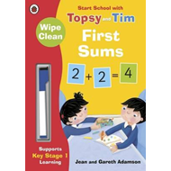 Wipe-Clean First Sums: Start School with Topsy and Tim (BOK)