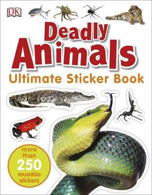 Deadly Animals Ultimate Sticker Book (BOK)