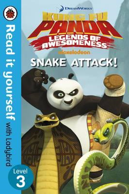Kung Fu Panda: Snake Attack! - Read it yourself with Ladybir (BOK)