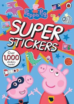 Peppa Pig Super Stickers Activity Book (BOK)