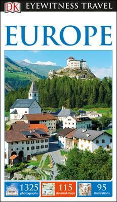 DK Eyewitness Travel Guide Europe (BOK)
