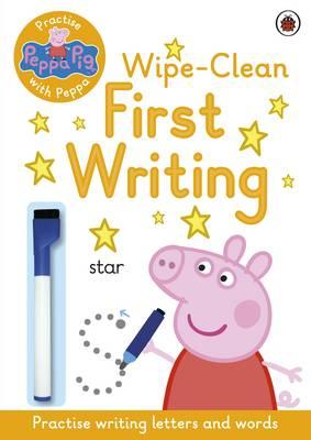 Peppa Pig: Practise with Peppa: Wipe-Clean First Writing (BOK)