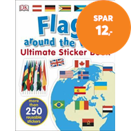 Produktbilde for Flags Around the World Ultimate Sticker Book (BOK)