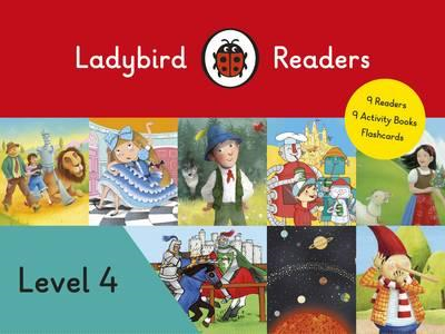 Ladybird Readers Level 4 Pack (BOK)