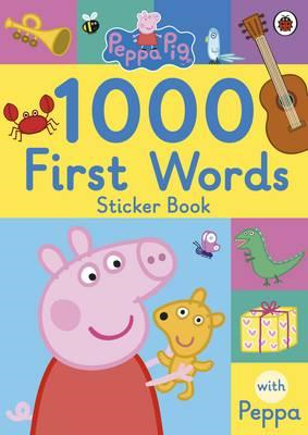 Peppa Pig: 1000 First Words Sticker Book (BOK)