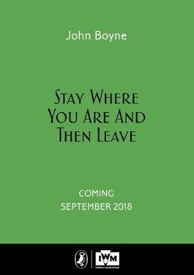 Stay Where You Are And Then Leave (BOK)