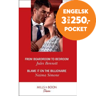 Produktbilde for From Boardroom To Bedroom / Blame It On The Billionaire (BOK)