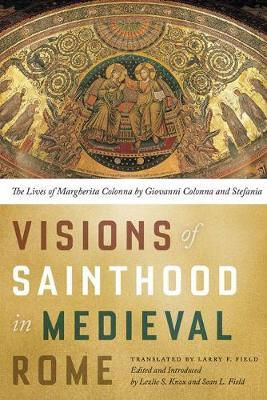 Visions of Sainthood in Medieval Rome (BOK)