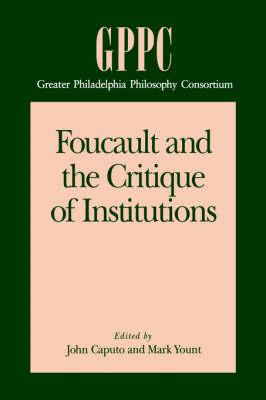 Foucault and the Critique of Institutions (BOK)