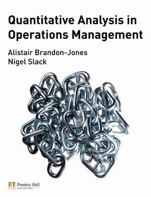 Quantitative Analysis in Operations Management (BOK)