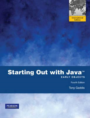Starting Out with Java: Early Objects (BOK)