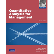 Quantitative Analysis for Management (BOK)