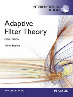 Adaptive Filter Theory : International Edition (BOK)