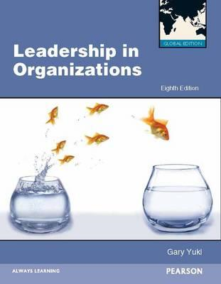 Leadership in Organizations Global Edition (BOK)