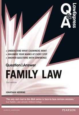 Law Express Question and Answer: Family Law (BOK)